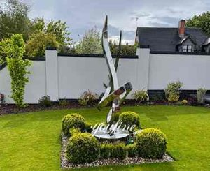 The Most Popular Abstract Metal Sculptures by Customers-Growing Sculpture
