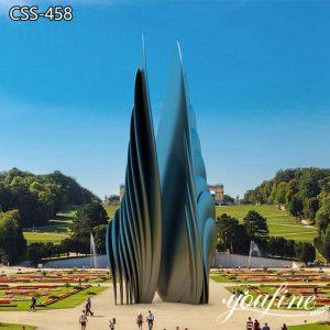 Urban Large Modern Metal Sculpture Park Project Suppliers CSS-458